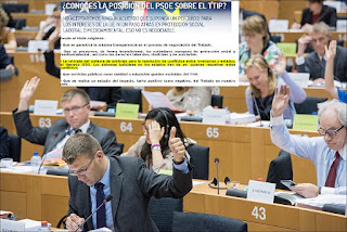 Esto es lo q prometía el @PSOE sobre el #ISDS en el #TTIP en las Municipales y es lo q hace