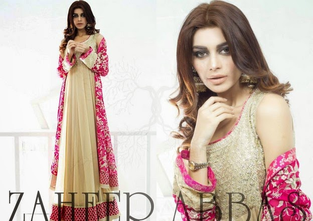 Zaheer Abbas Eid Collection 2014 wwwfashionhuntworldblogspot 13  - Zaheer Abbas Eid Collection 2014 For Women