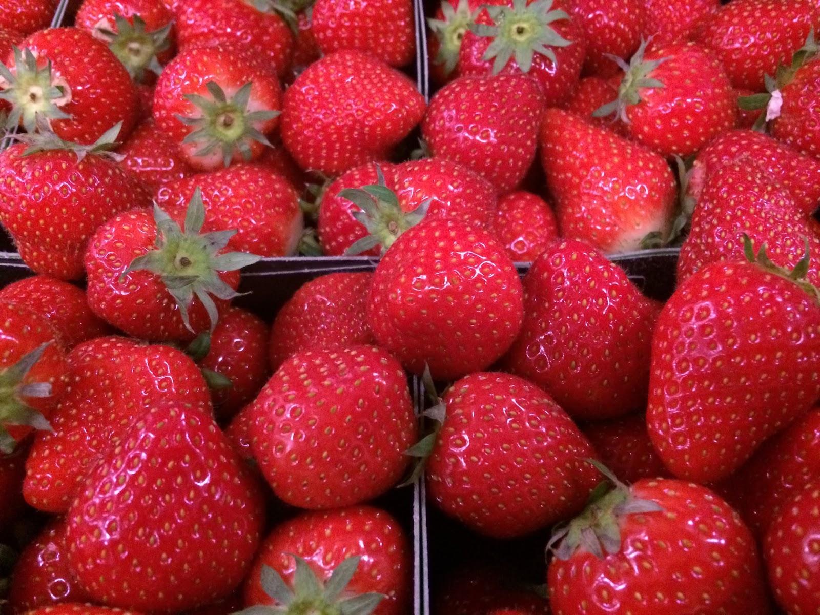 J 39 en reste baba la fraise ce fruit de saison for Fraisier darselect