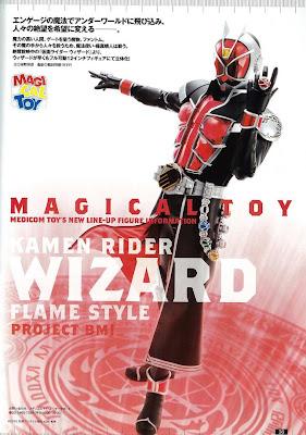 Medicom Project BM 1/6 Scale Kamen Rider Wizard figure
