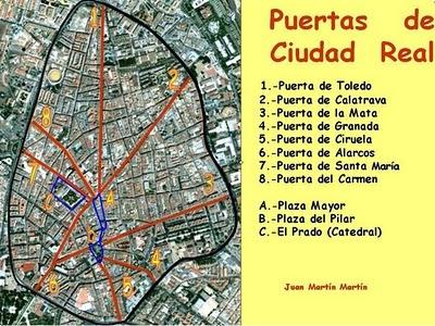 Blog de geograf a del profesor juan mart n mart n el plano radial de ciudad real - Parking plaza puerta real en granada ...