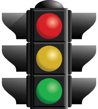 Traffic Light Works With Respect To Time(some Amount Of Milliseconds)  2.Three Lights Correspondingly To Change The Transactions. 3. Light Should  Change ...