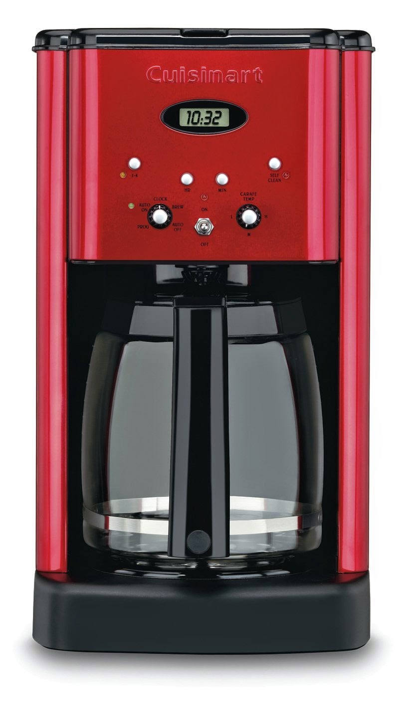 Home, Garden & More...: Cuisinart DCC-1200 Brew Central 12-Cup Programmable Coffeemaker, Review ...