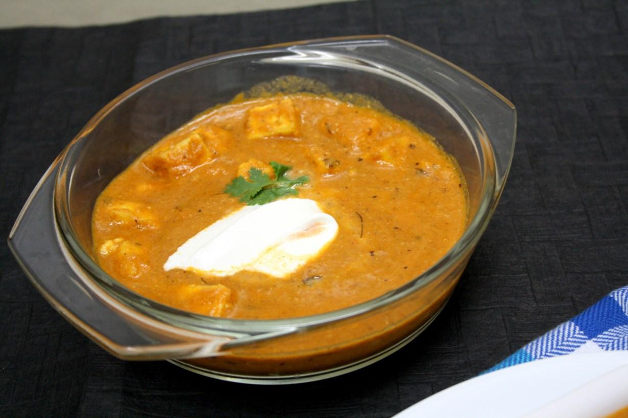 Paneer Makhani / Paneer Butter Masala