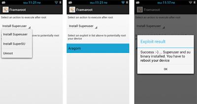 Framaroot V1.9.3 Apk-screenshot