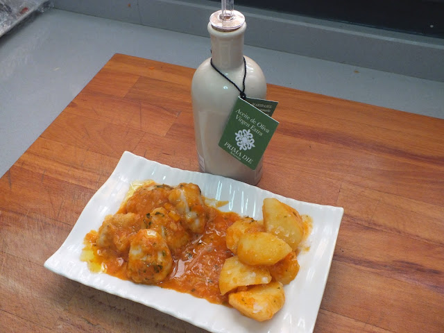 Escuela de cocina pako amor cachetes de rape en salsa - Escuela de cocina paco amor ...