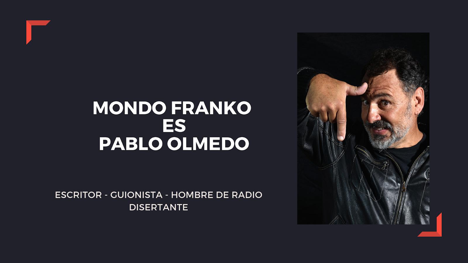PABLO OLMEDO ESCRITOR
