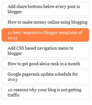 3 Jenis Widget Popular Post Menggunakan CSS3 untuk Blogger