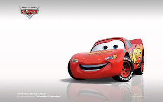 Cartoon car wallpaper