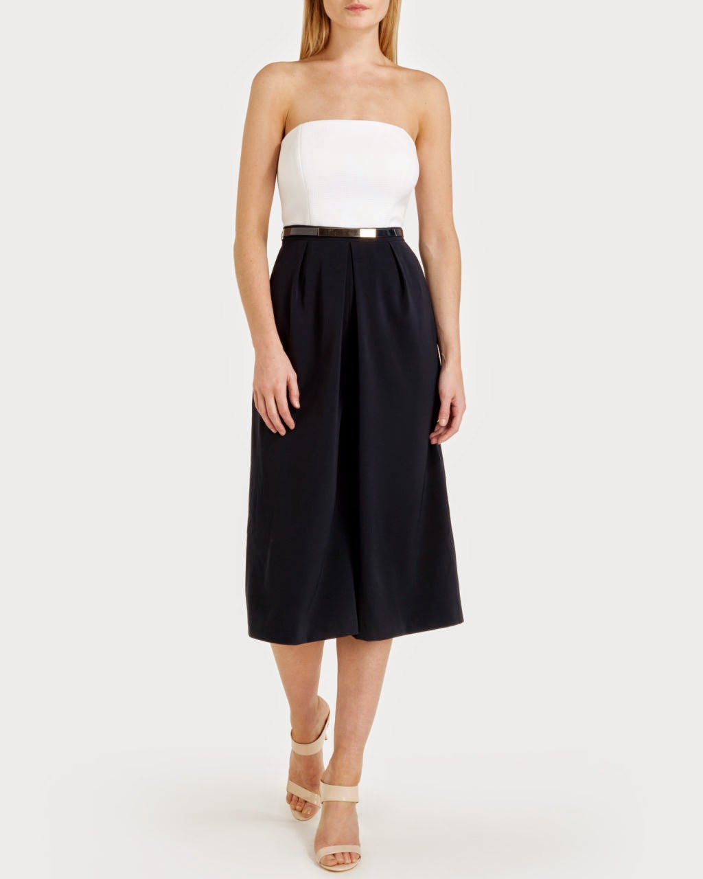 ted baker culottes, navy culotte jumpsuit,