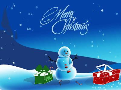 Feliz navidad, una bola de nieve