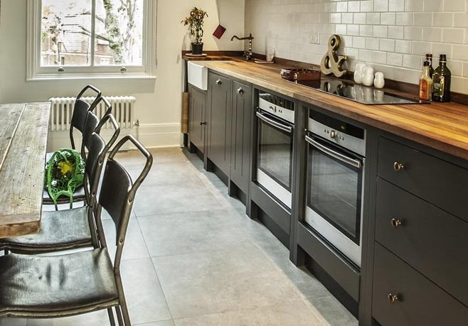 Deco] Una cocina industrial de elegancia British – Virlova Style