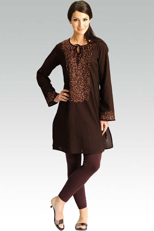 Lastest Indian Designer Wear Kurta Designs Online Printed Silk Salwar Suits