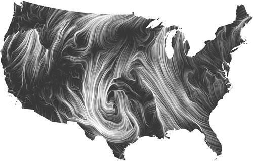 Live Wind Map by HINT.FM | adrien segal art.design.data.sculpture