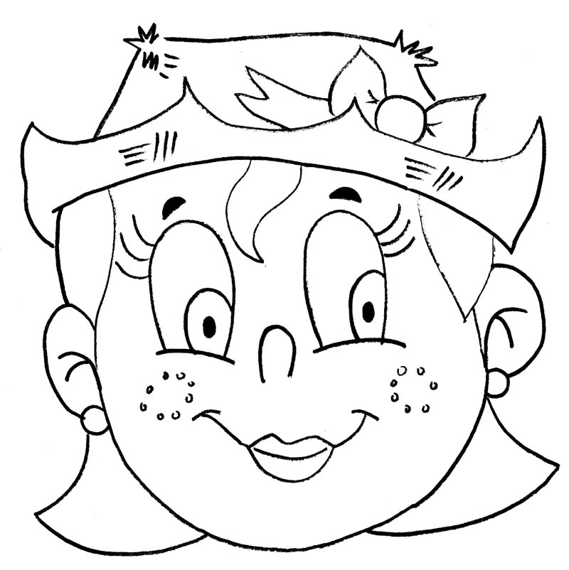 educação na net festa junina máscara menino e menina
