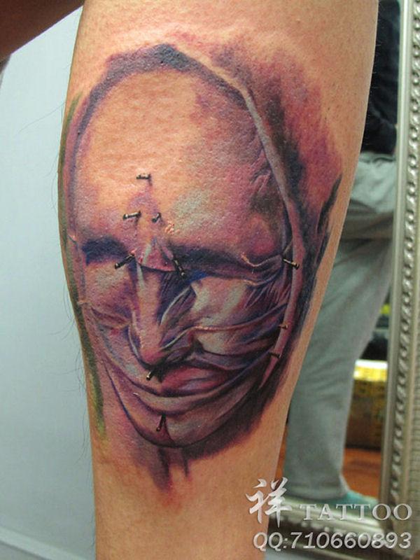 creepy tattoo 0005432