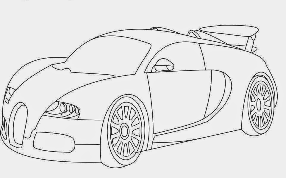 Car Coloring Drawing Free wallpaper