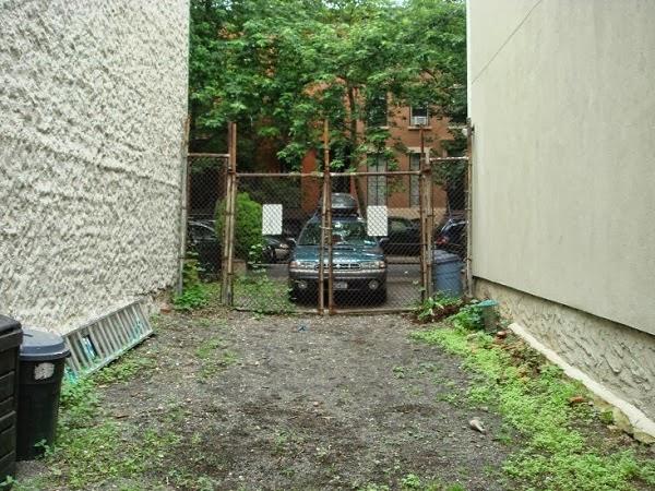 antigua vista hacia la calle