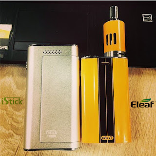 iStick 100W and eVic VT