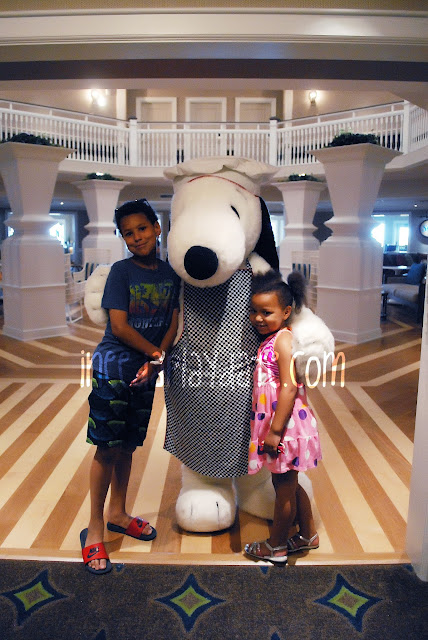 Snoopy at @CedarPoint Resorts Hotel Breakers #bloggingatCP