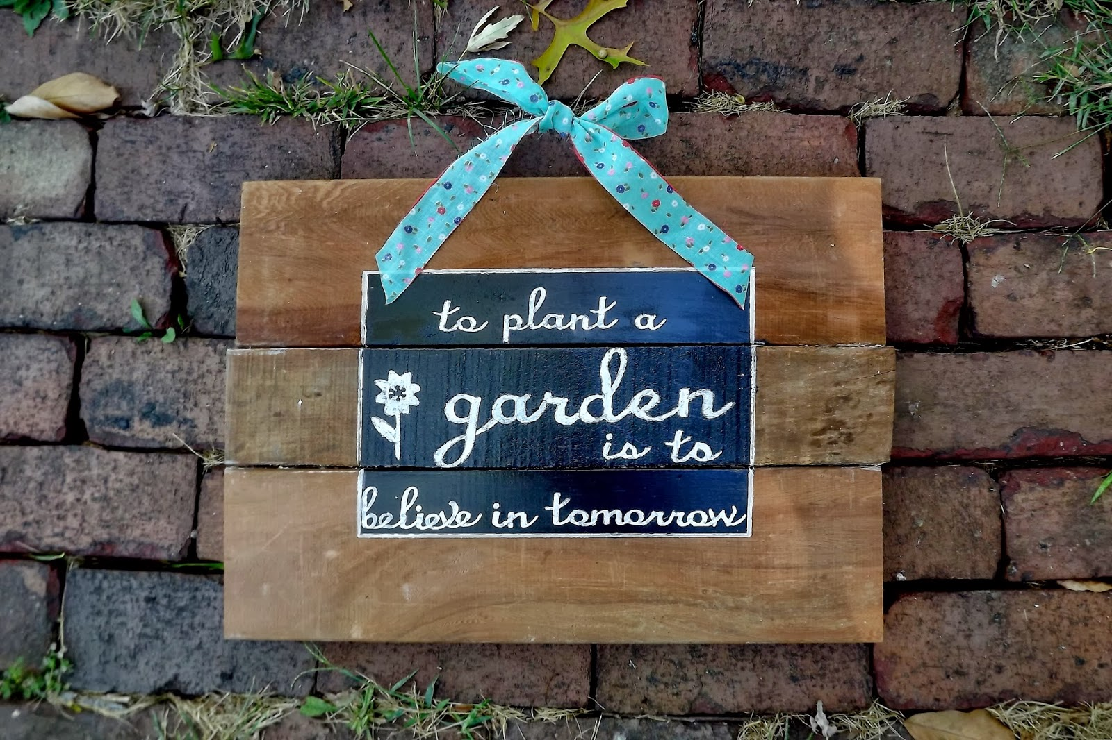 Tales From A Cottage Rustic Garden Sign