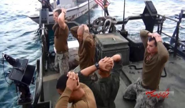 Irán pone de rodillas a los marines de Estados Unidos