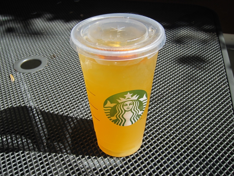 Valencia orange starbucks drink
