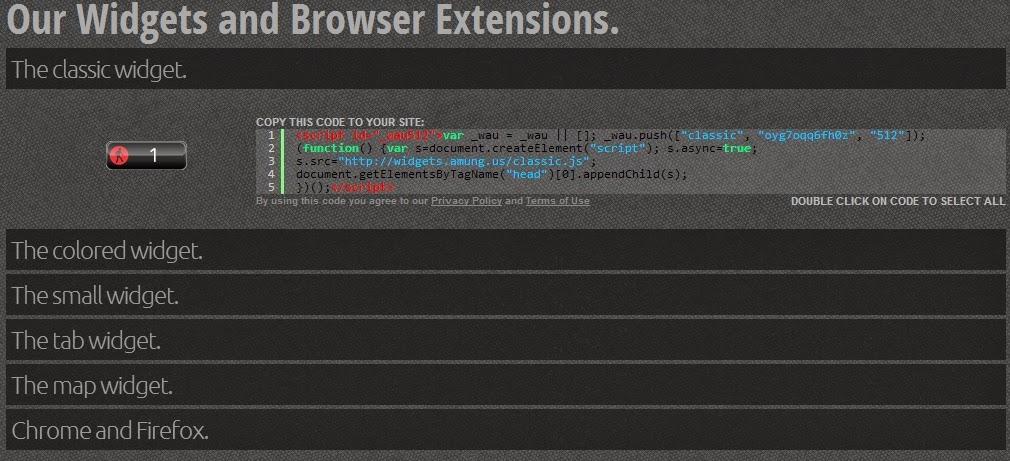 Widget Untuk Mengetahui Jumlah Pengunjung Yang online di blogger