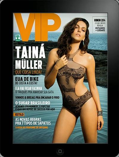 Tain M Ller Ipad Revista Vip Julho