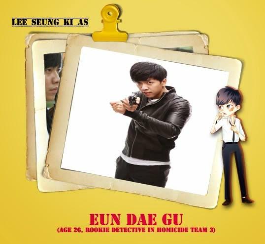 Lee seung gi sebagai Eun dae gu