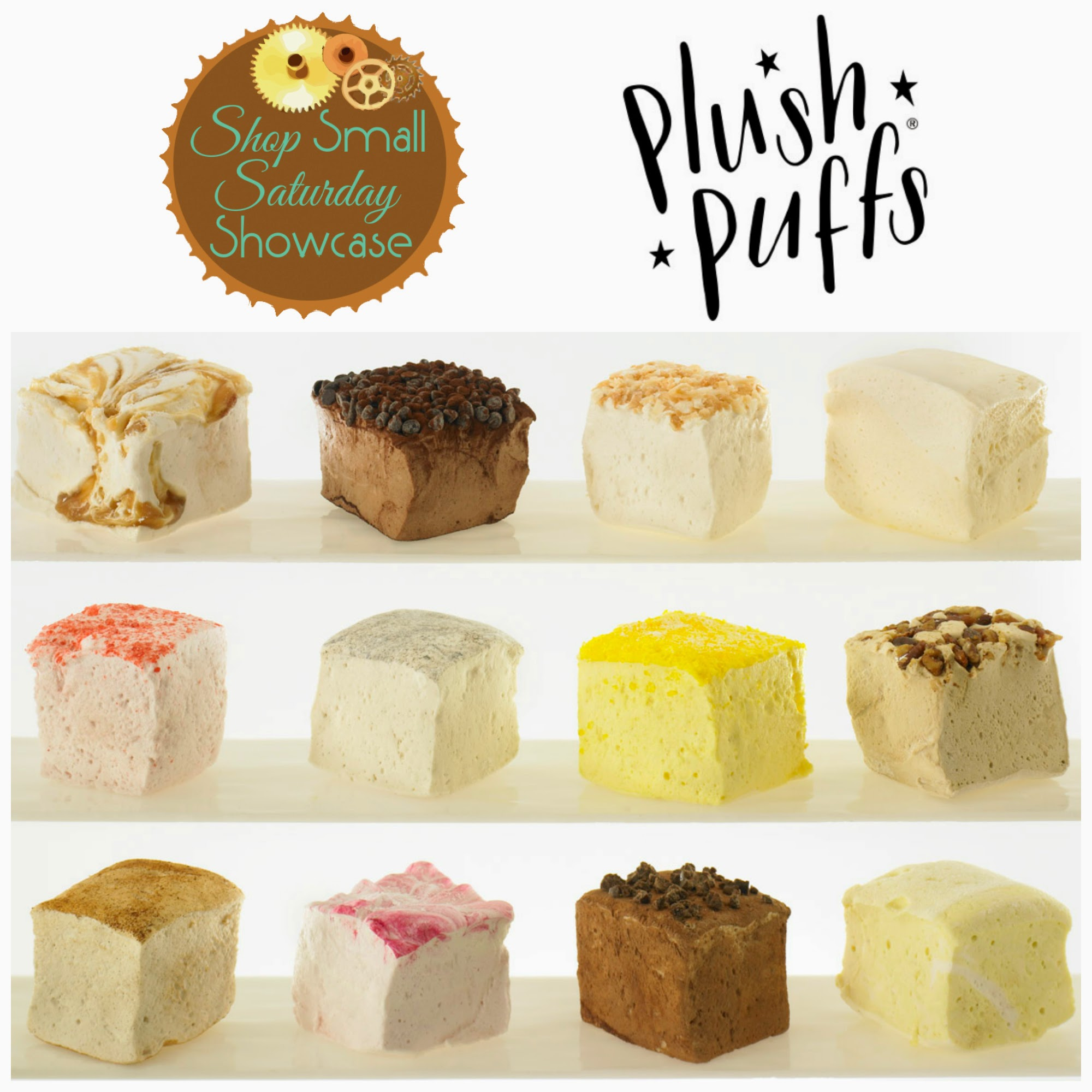 Plush Puffs on Shop Small Saturday Showcase at Diane's Vintage Zest!