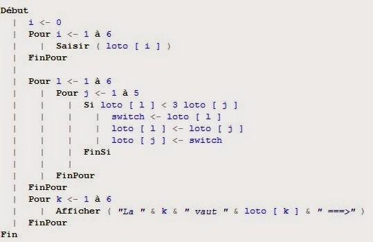 Cours Algorithmique I + language C smai s2