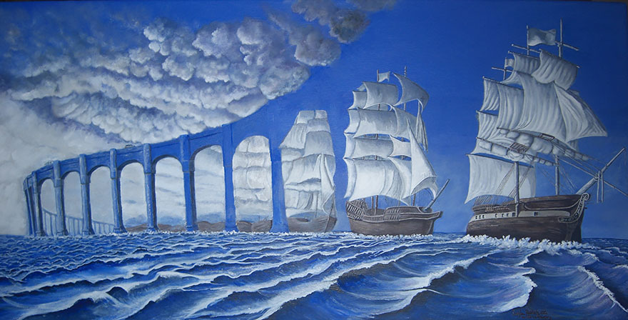 Relentless writers magical realism fantasy or not for Amazing art paintings