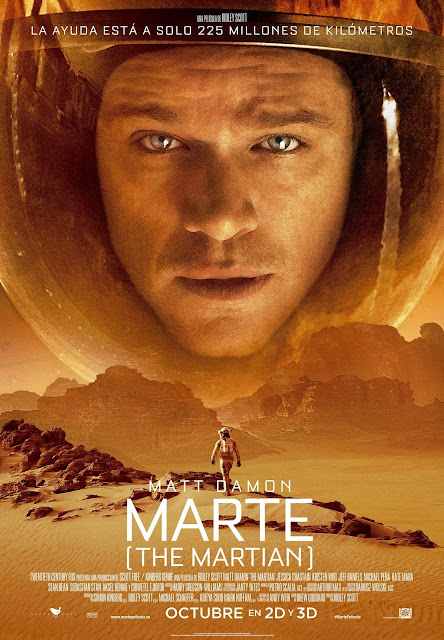 marte the martian cartel matt  damon ridley scott