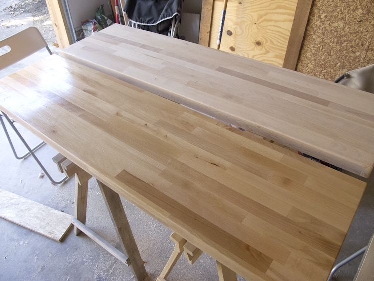 how to clean butcher block after cutting meat