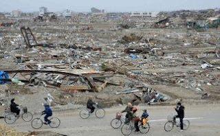 Devastaciones fruto del tsunami que afectó al Japón