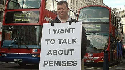 "Lawrence Barraclough, producer of the ""my penis and I"" documentary"