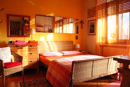 Dormitorios naranjas dormitorios con estilo - Color de pintura para habitacion ...