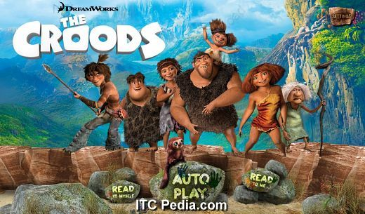 The Croods Movie Storybook v1.0 Android - DeBTPDA