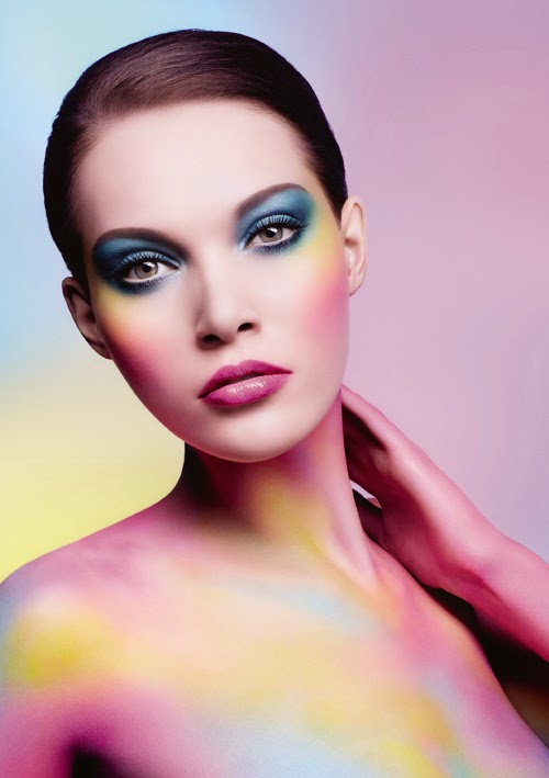210 sombras para celebrar el 30 aniversario de Make Up For Ever - Make-Up-For-Ever-Artist-Shadow-Look