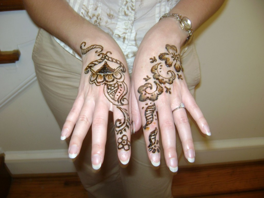 Mehndi Pictures For Hands : Arabic henna designs for hands about lady