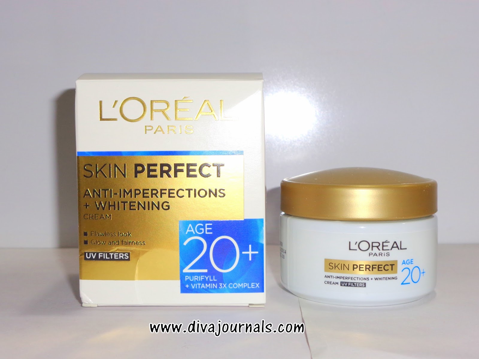 Loreal Paris Skin Perfect Anti-Imperfections+Whitening Cream for Age 20+