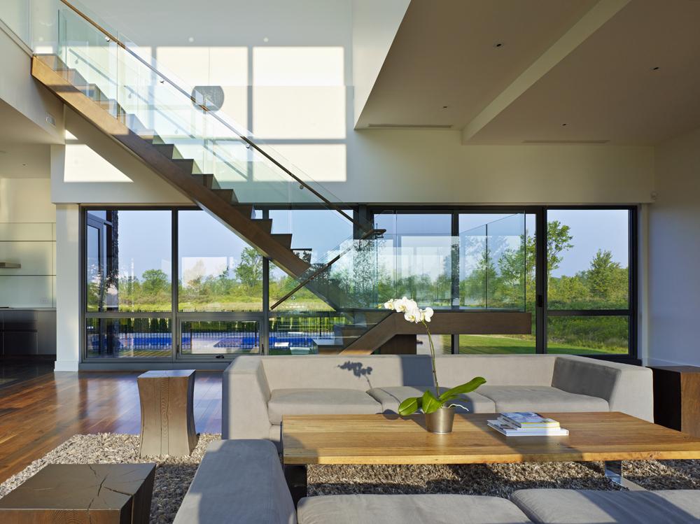 Salas a doble altura interiores por paulina aguirre for Casas de diseno vintage