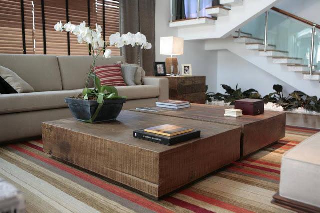 Construindo minha casa clean mesas de centro e de canto for Mesas de centro para sala modernas