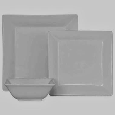 JCP Everyday White Square Dinnerware & Black Friday LALs: Restoration Hardware Square Rimmed Dinnerware ...