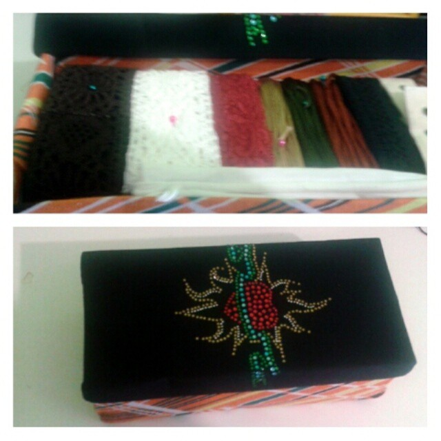 Το craft kit που κέρδισα στο giveaway του in my closet