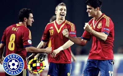 Prediksi Estonia U21 vs Spain U21, UEFA U21 02-09-2015
