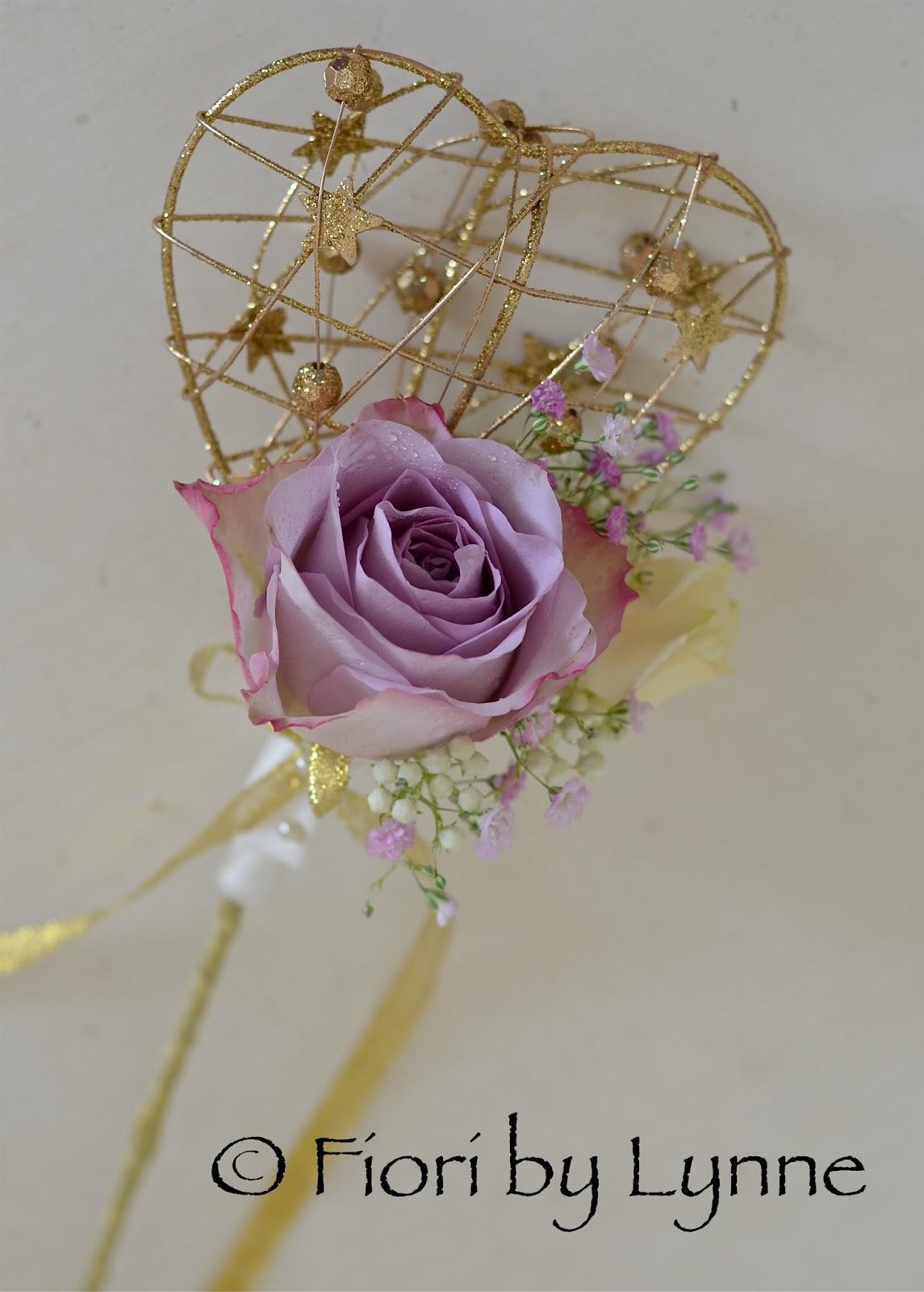 Wedding flowers blog july 2013 for Flower wand