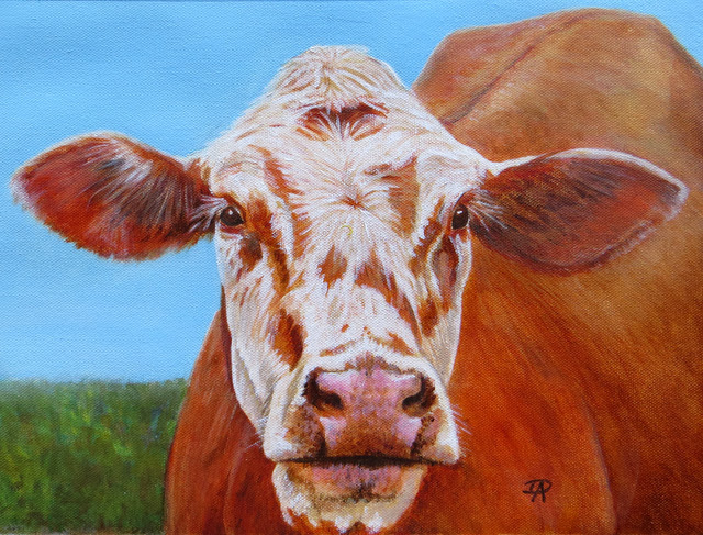 Cow (Acrylic) - sold