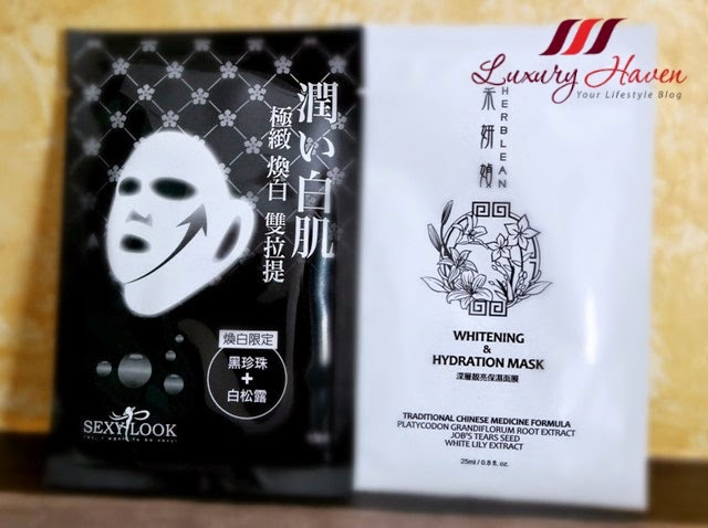 sexy look whitening mask herblean giveaway